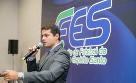 Posse da nova diretoria e do novo presidente da da Federação de Futebol do Espírito Santo - FES, Gustavo Vieira.  Fotos Jussara Martins